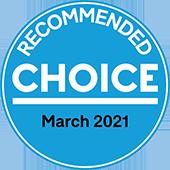Choice Award March 2021